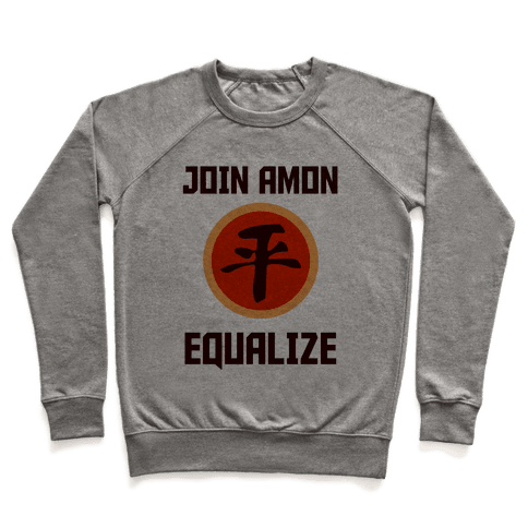 Join The Equalists Pullover