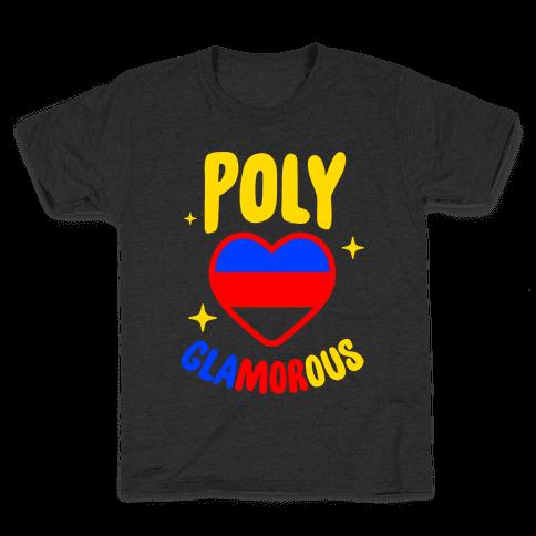 Poly Glamorous Kids T-Shirt
