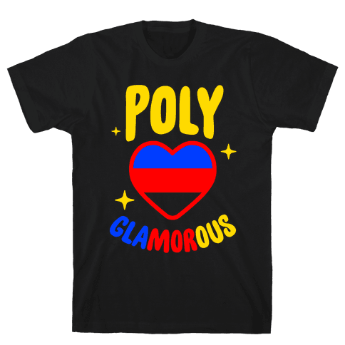 Poly Glamorous Mens T-Shirt