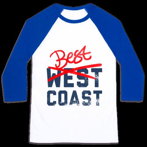 Best Coast Baseball Tee