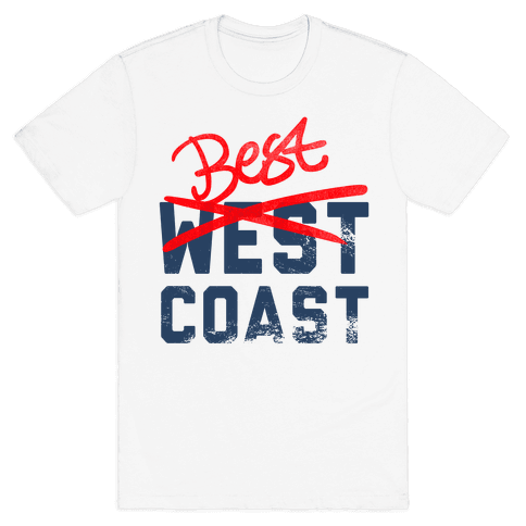 Best Coast Mens T-Shirt