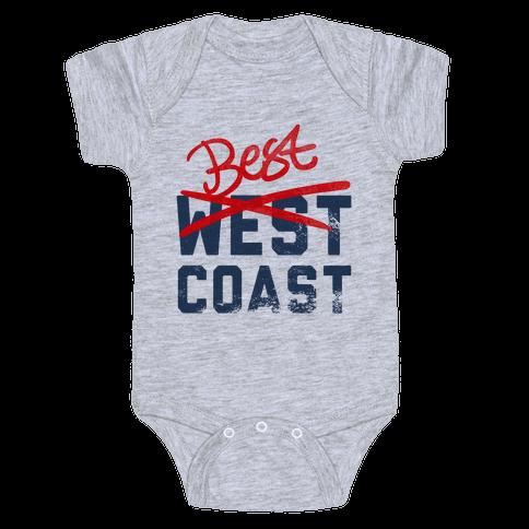 Best Coast Baby Onesy