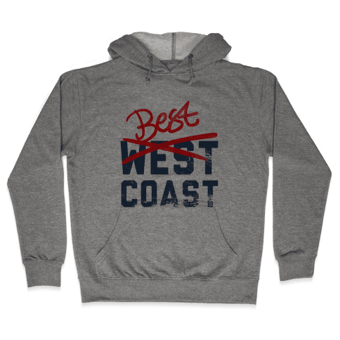 Best Coast Hooded Sweatshirt