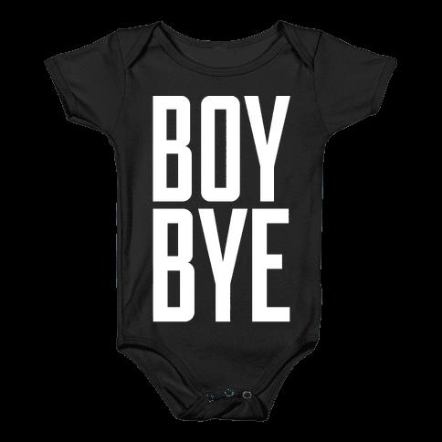 Boy Bye Baby Onesy