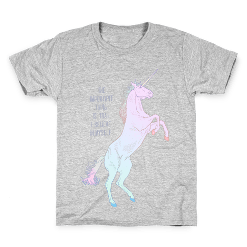 I Believe In Myself Kids T-Shirt
