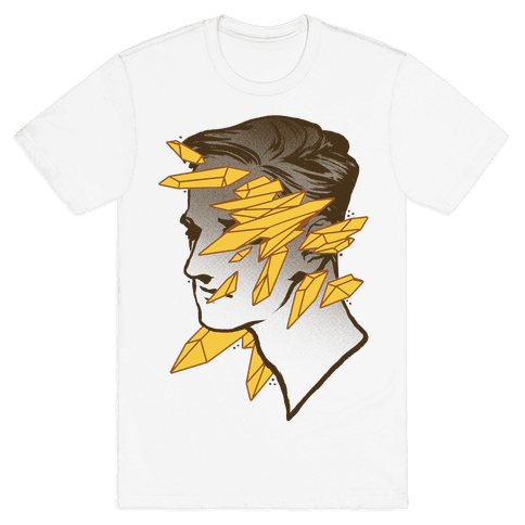 Crystal Faced Stranger Mens T-Shirt