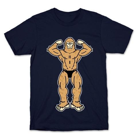 Buff cryptids: Bigfoot T-Shirt