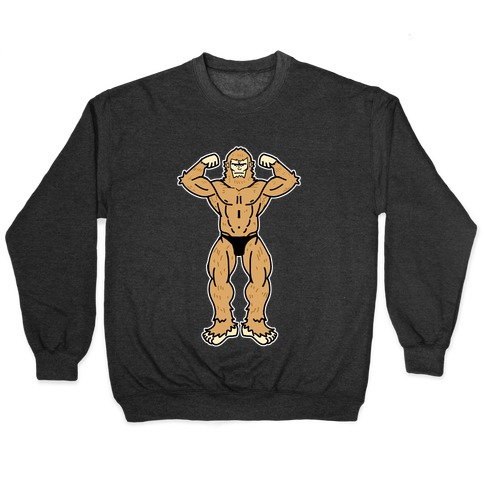 Buff cryptids: Bigfoot Pullover