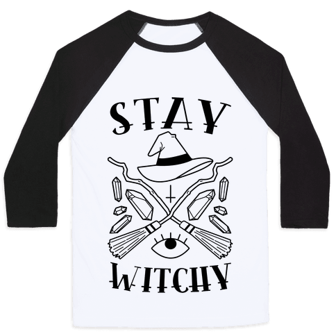 Stay Witchy Baseball Tee