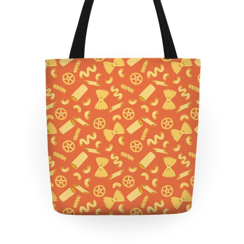 Noodle Pattern Tote