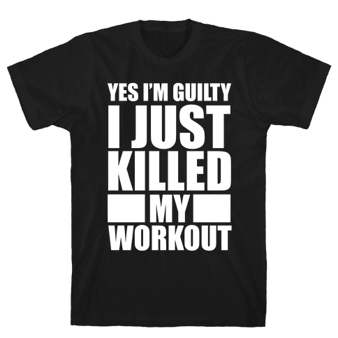 Guilty as Charged Mens T-Shirt