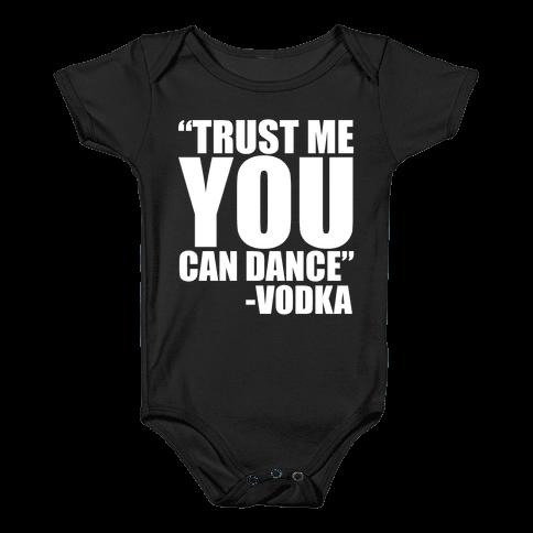 Trust Vodka Baby Onesy