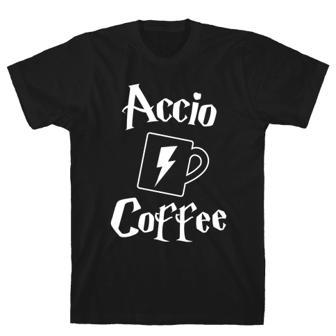 Accio Coffee Mens T-Shirt