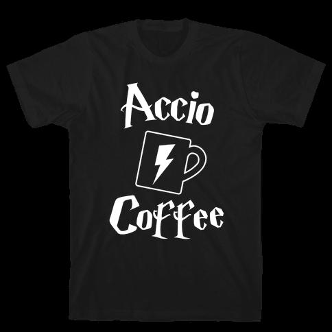Accio Coffee Mens T-Shirt