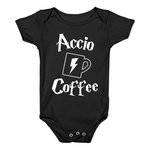 Accio Coffee Baby Onesy