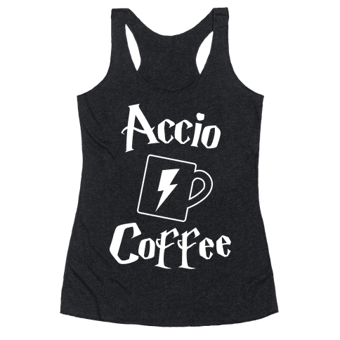 Accio Coffee Racerback Tank Top