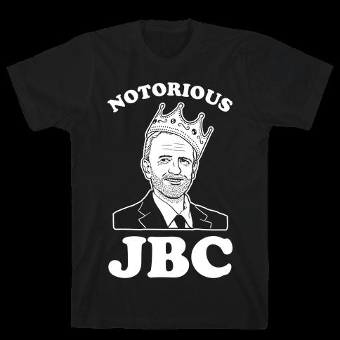 Notorious JBC ( Jeremy Corbyn) Mens T-Shirt