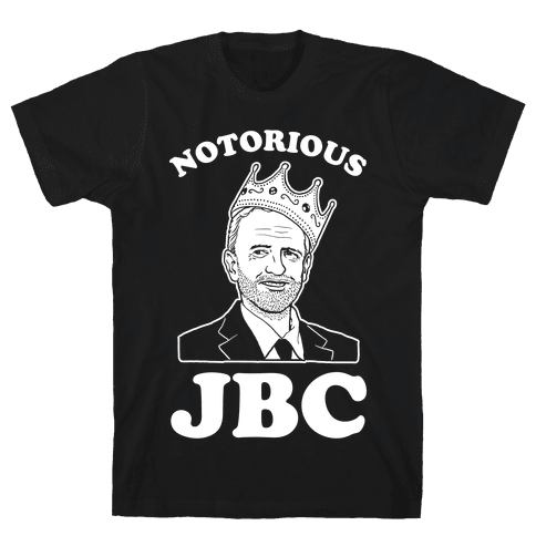Notorious JBC ( Jeremy Corbyn) Mens T-Shirt