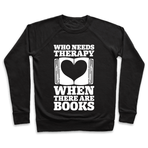 Book Therapy Pullover