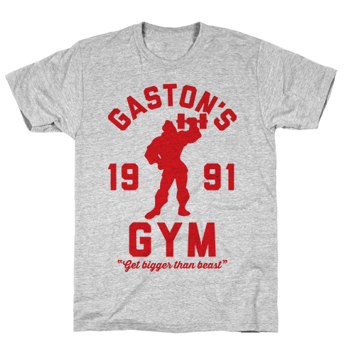 Gaston's Gym Mens T-Shirt