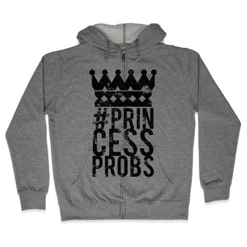 Princess Problems Glo Zip Hoodie
