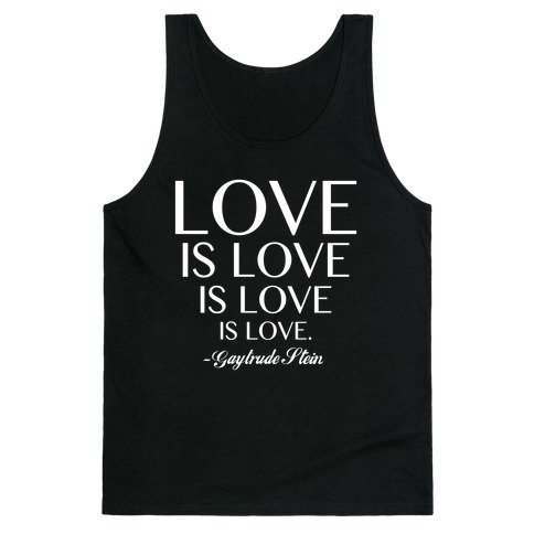 Love is Love (White) Tank Top