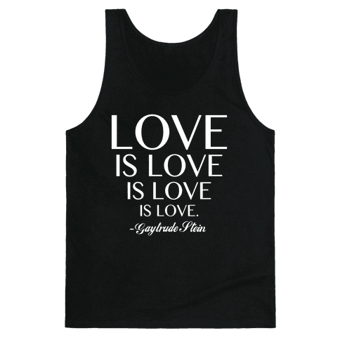 Love is Love (White) Tank Top