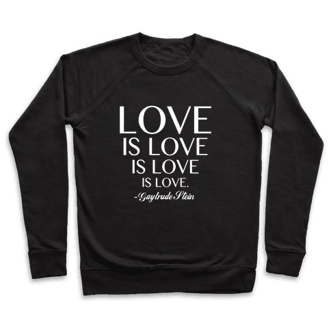 Love is Love (White) Pullover