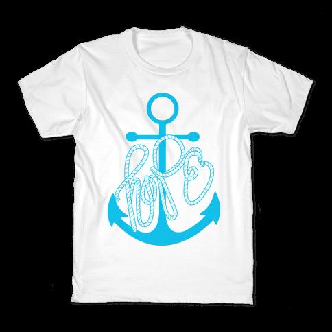 Hope (Blue) Kids T-Shirt