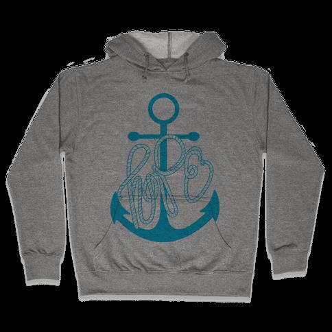 Hope (Blue) Hooded Sweatshirt