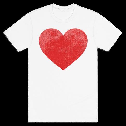 Heart Mens T-Shirt