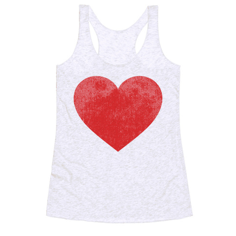 Heart Racerback Tank Top