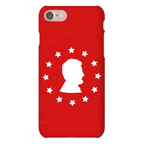 Abraham Lincoln Silhouette Phone Case
