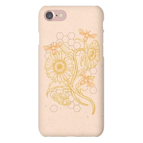 Honeybees & Sunflowers Phone Case