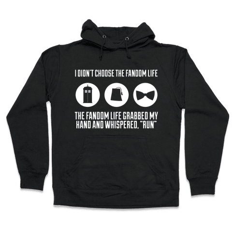 The Fandom Life Hooded Sweatshirt
