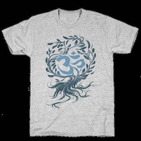 Tranquilly Om Mens T-Shirt