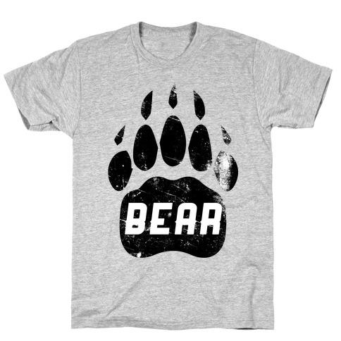 Bears Red Black& White T-Shirt