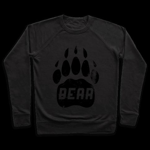 Bears Red Black& White Pullover