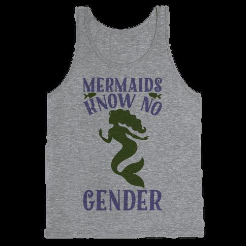 Mermaids Know No Gender Tank Top