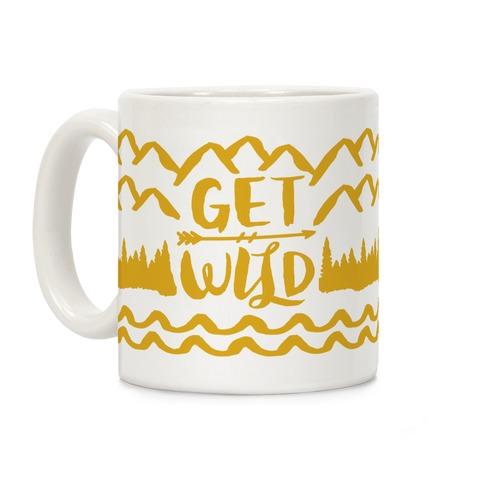 Get Wild Coffee Mug