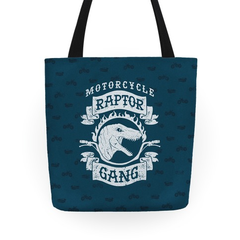 Motorcycle Raptor Gang Tote