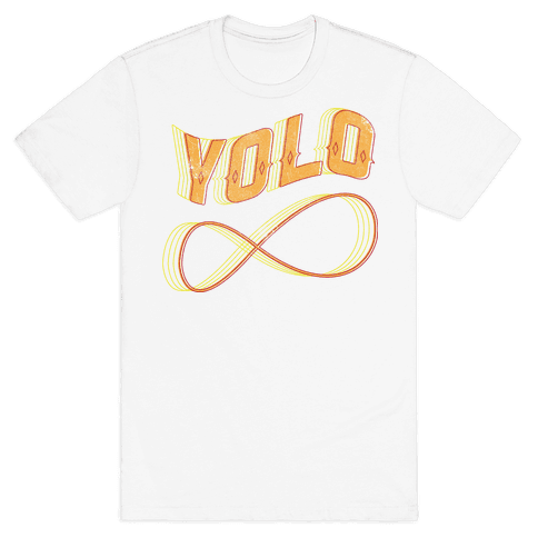 Yolo Infinity Mens T-Shirt