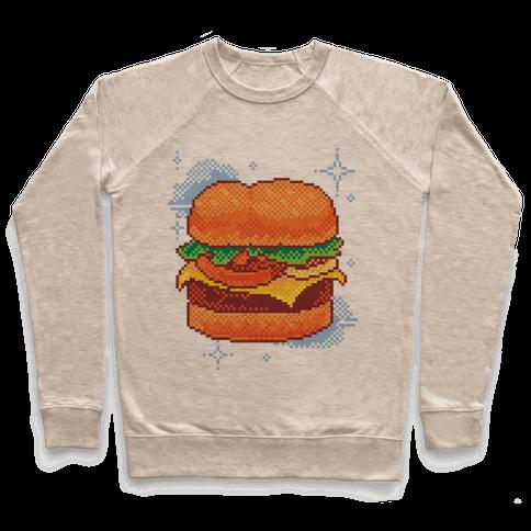 Pixel Burger Pullover