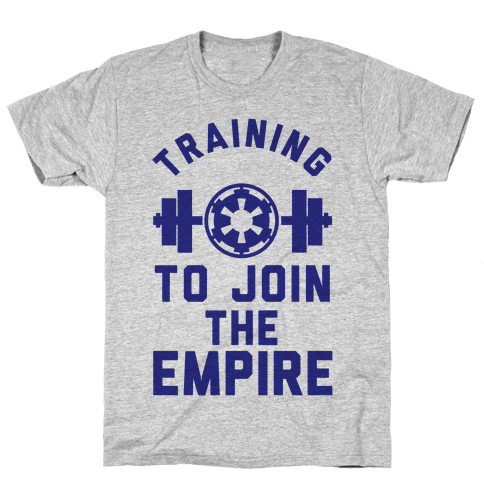 Training To Join The Empire Mens T-Shirt