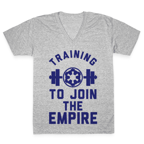 Training To Join The Empire V-Neck Tee Shirt