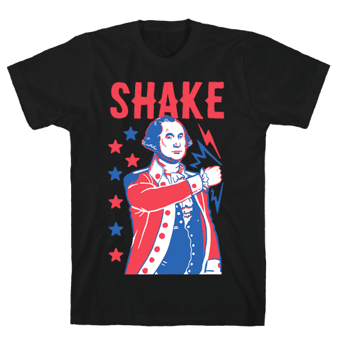 Shake & Bake: George Washington Mens T-Shirt