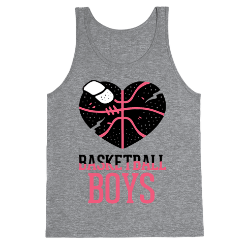 Basketball Boys Tank Top