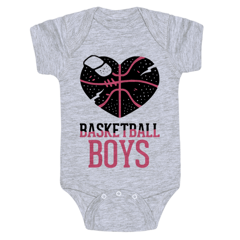 Basketball Boys Baby Onesy