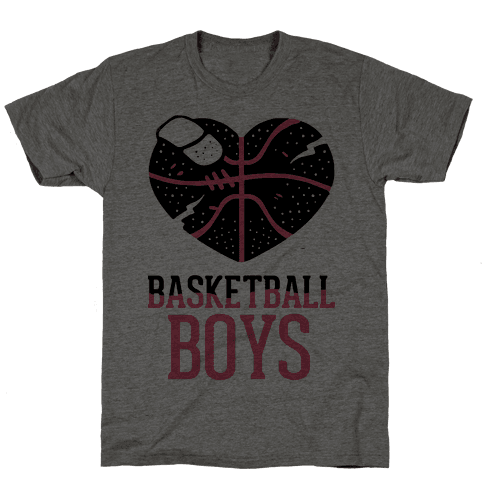 Basketball Boys Mens T-Shirt
