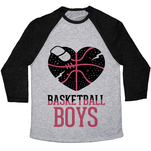 Basketball Boys Baseball Tee